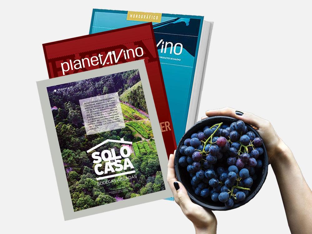 Bodega Sierra Almagrera en la revista «Planeta Vino»