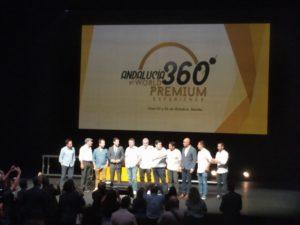 Juan Manuel Moreno y chefs participantes