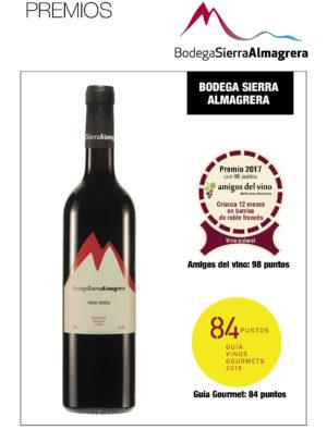 Montaje Premios Bodega Sierra Almagrera
